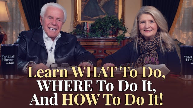 Learn What To Do, Where To Do It, And...