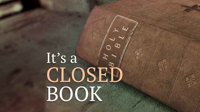 It's A Closed Book