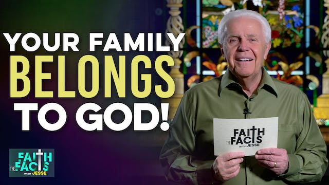 Your Family Belongs To God!