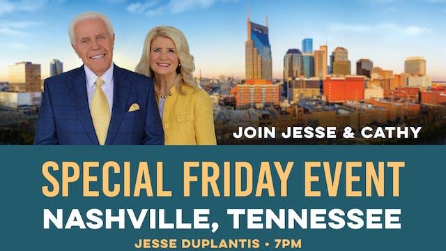 Join Jesse in Nashville!