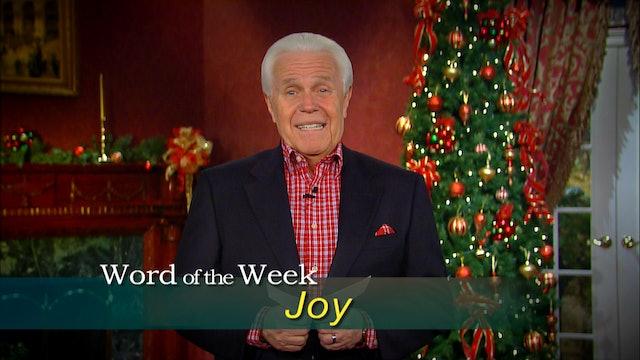 Joy (Luke 2:10,11)