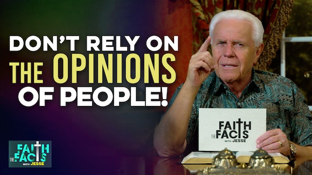 Don't Rely On The Opinions Of People!