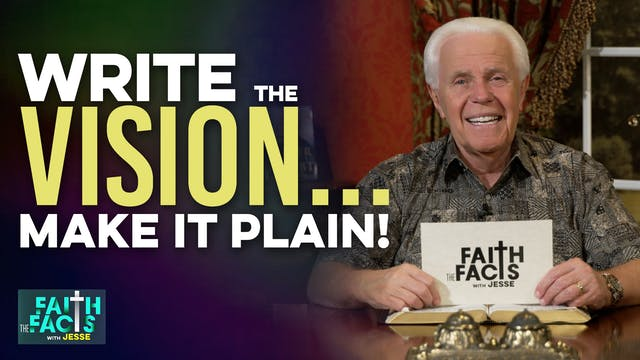 Write The Vision…Make It Plain!