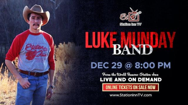 Luke Munday Band   December 29th, 2020