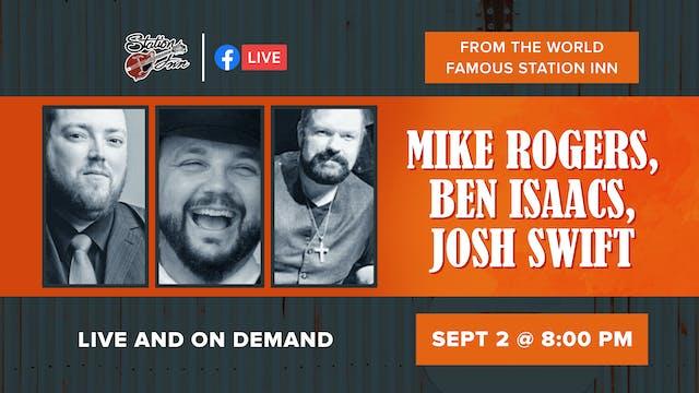 Mike Rogers, Ben Isaacs, Josh Swift |...