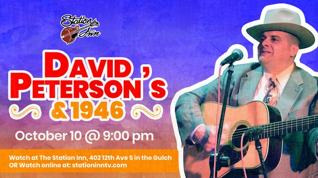 David Peterson & 1946 (Live recording)