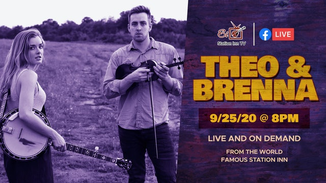 Theo & Brenna (Live Online) | September 25th, 2020