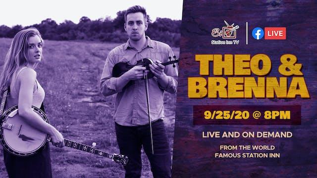 Theo & Brenna (Live Online)