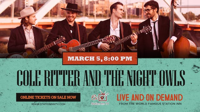 Cole Ritter And The Night Owls | March 5, 2021