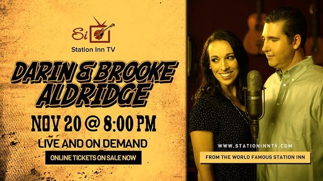 Darin & Brooke Aldridge - November 20, 2020