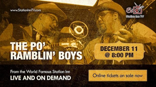 The Po' Ramblin' Boys | December 11, 2020