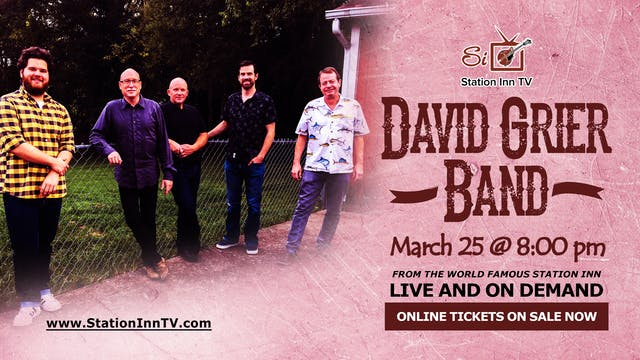 The David Grier Band | March 25, 2021