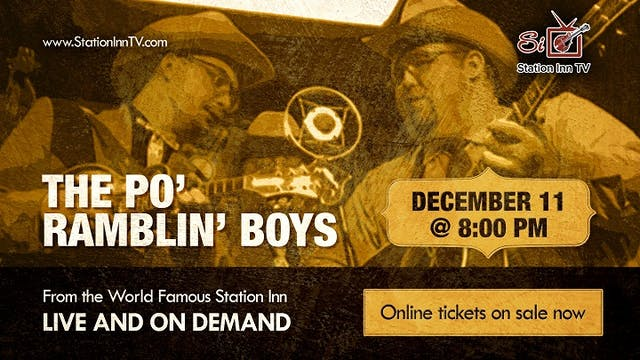The Po' Ramblin' Boys - December 11, 2020
