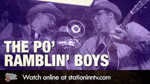 The Po' Ramblin' Boys (Live recording)