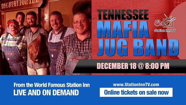 Tennessee Mafia Jug Band   December 18th, 2020
