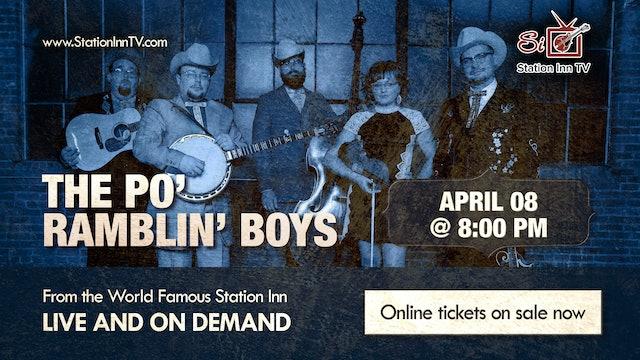 The Po' Ramblin' Boys | April 8, 2021