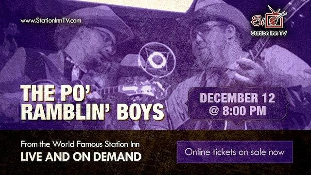 The Po' Ramblin' Boys | December 12, 2020