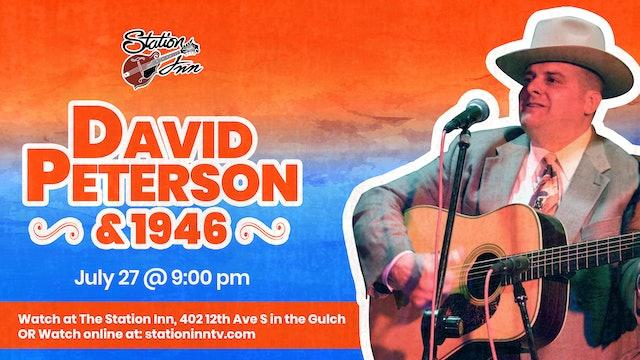 David Peterson & 1946 (Live recording)