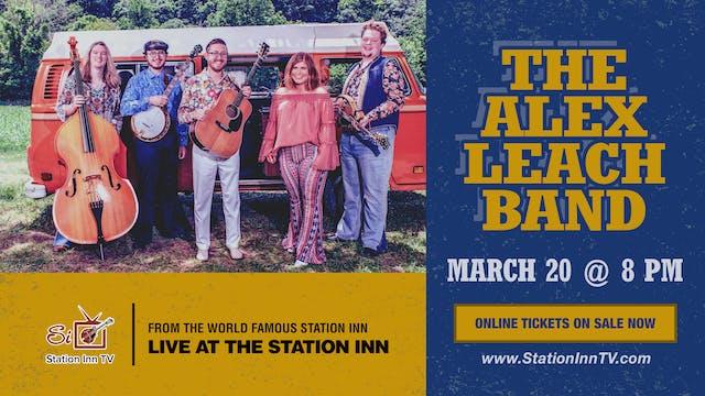The Alex Leach Band | March 20, 2021