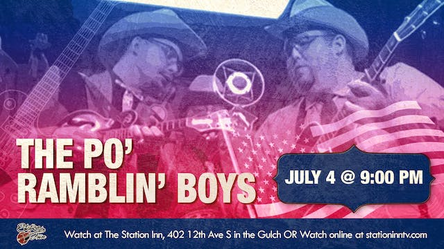 The Po' Ramblin' Boys (Live Recording)
