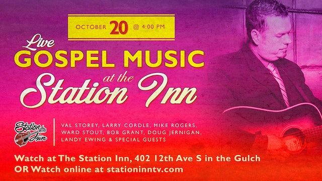 Live Gospel Music at Station Inn | October 20, 2019