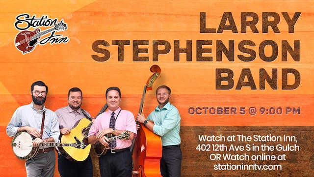 Larry Stephenson Band | October 5, 2019