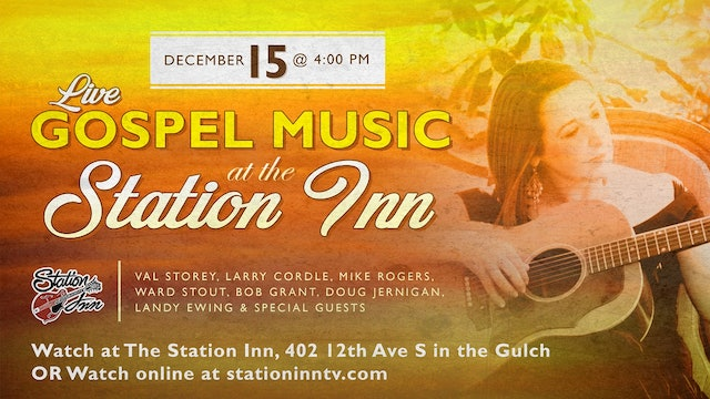 Live Gospel Music at Station Inn | December 15, 2019