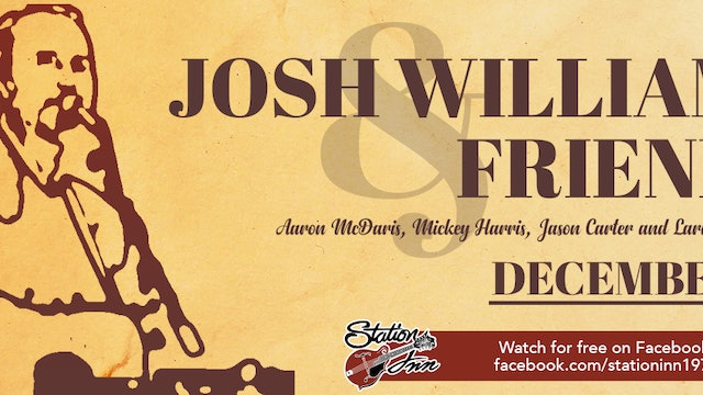Josh Williams & Friends | December 28, 2018