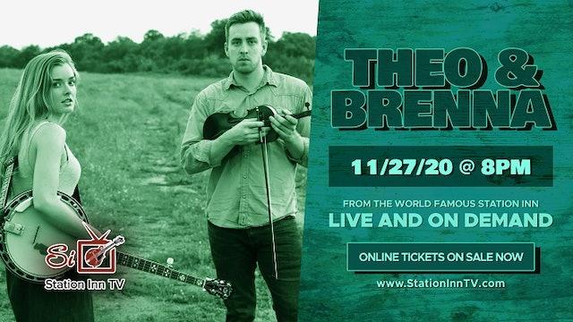 Theo & Brenna   November 27, 2020