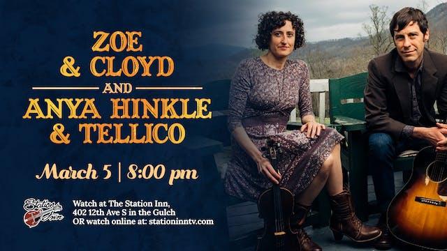 Zoe & Cloyd and Anya Hinkle & Tellico...