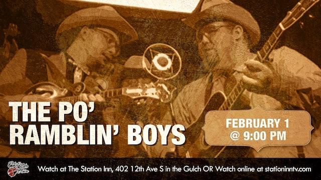 The Po' Ramblin' Boys | February 1, 2020