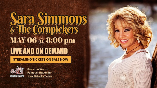 Sara Simmons and The Cornpickers | May 6, 2021