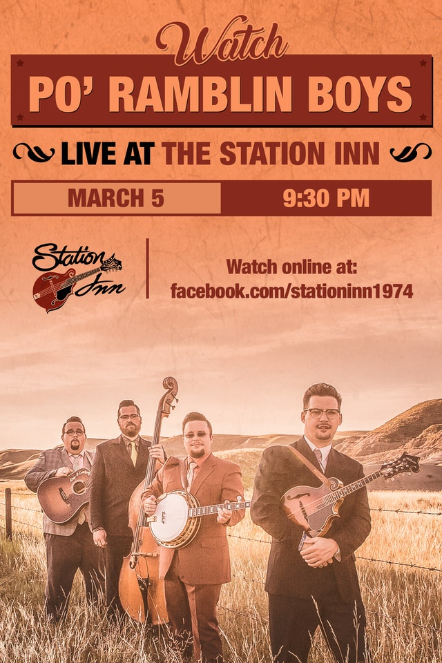 Po' Ramblin Boys with Michael Cleveland | March 5th, 2019