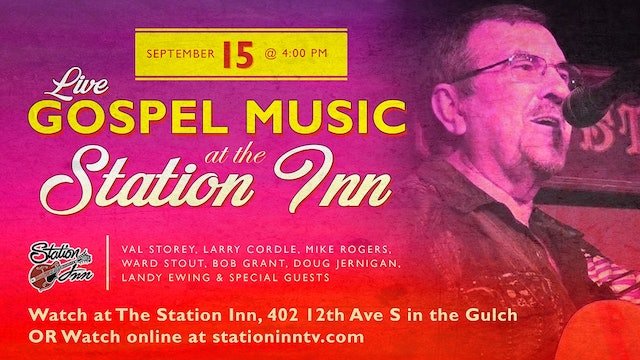 Live Gospel Music at Station Inn | September 15, 2019