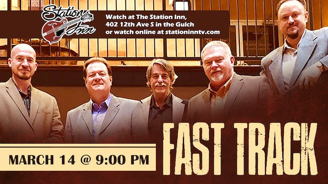 Fast Track | March 14, 2020