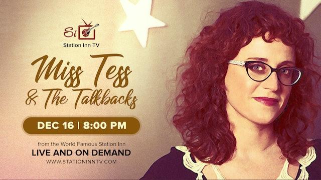 Miss Tess & The Talkbacks | December 16, 2020