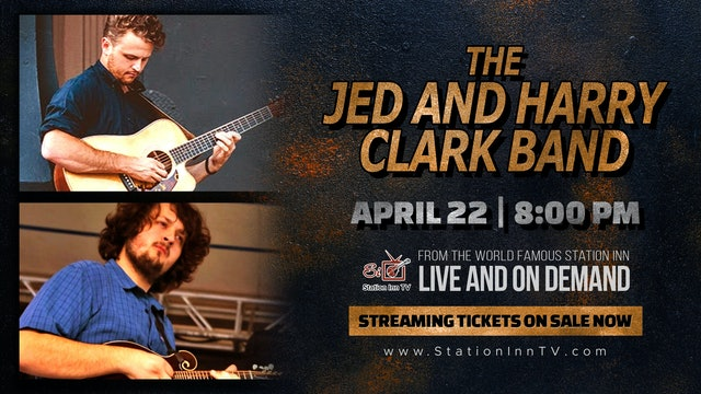 The Jed and Harry Clark Band | April 22, 2021