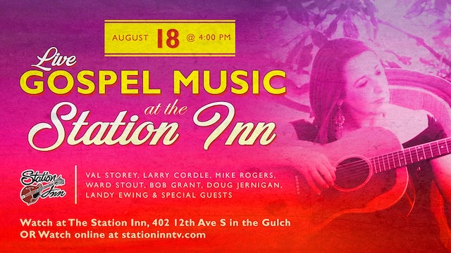 Live Gospel Music at Station Inn | August 18, 2019