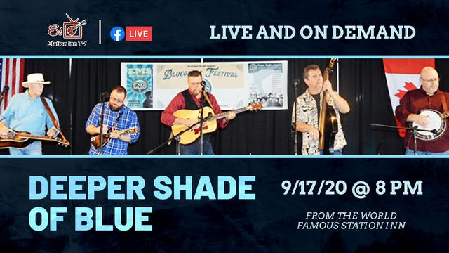 Deeper Shade Of Blue (Live Online)