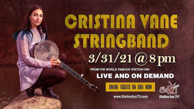 Cristina Vane Stringband | March 31, 2021