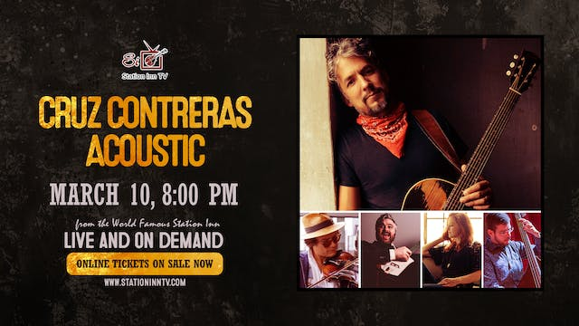 Cruz Contreras Acoustic | March 10, 2021