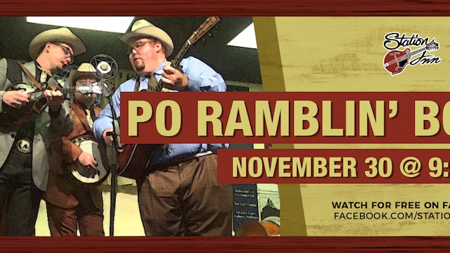 Po' Ramblin' Boys