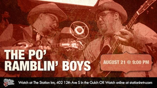 Po' Ramblin' Boys (Live recording)