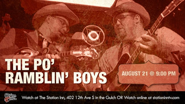 Po' Ramblin' Boys (Live recording)