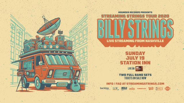 Billy Strings live at The Station Inn - July 19