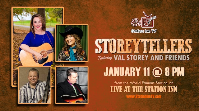 Storeytellers Featuring Val Storey and Friends | January 11, 2021