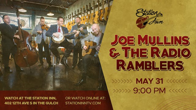 Joe Mullins & The Radio Ramblers (Liv...