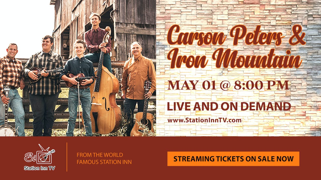 Carson Peters and Iron Mountain | May 1, 2021