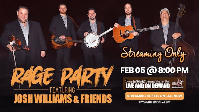 Rage Party Featuring Josh Williams | ...