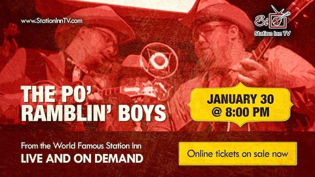 The Po' Ramblin' Boys | January 30, 2021
